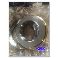Wholesale Rubber / Metal Sealed Cap Single Row Thrust Ball Bearings with chrome steel from china suppliers