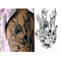 Buy cheap Men Women Temporary Tattoo Sticker Waterproof Removable Body Arm Art from wholesalers