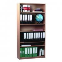 Wholesale 15mm PB PVC Wood Cube Furniture Bookcase with 1 Fixed  / 4 Adjustable Shelves  DX-129 from china suppliers