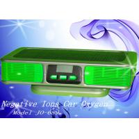 Buy cheap OEM Green Silver Negative Ions Car Oxygen Bars for Preventing Infections from wholesalers