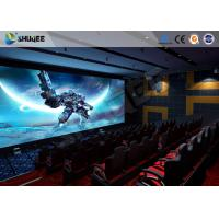 Wholesale Pneumatic System 5D Movie Theater 6 DOF Platform With Special  Environment from china suppliers