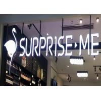 Wholesale High Bright Acrylic LED Letters Sign For Indoor / Outdoor Shop Decoration from china suppliers