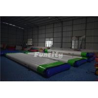 Buy cheap 0.9mm PVC Tarpaulin Inflatable Water Floating Platform For Water Park Equipment from wholesalers