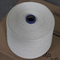 Wholesale OCS Certified 55% Hemp Yarn 45% Organic Cotton Blend Thread 16Ne for Weaving / Knitting from china suppliers