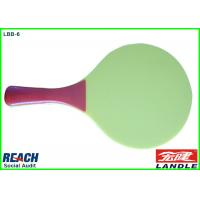 Wholesale Green Beach Paddle Rackets / PP Beach Paddle Not Transparent from china suppliers