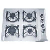 Wholesale Stainless Steel Blue Flame 4 Ring Gas Hob With Thermocouple Safety Device from china suppliers