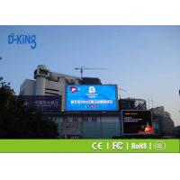 Wholesale Bus Station Light Weight Full Color LED Board , Waterproof P6 Outdoor LED Display from china suppliers