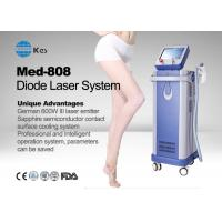 Wholesale Germany 6 Bar Handpiece Laser Diode 808 Nm Hair Removal Machine , Laser Depilation Machine from china suppliers