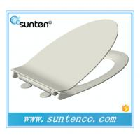 Wholesale White Ultra Slim Elongated V Shape Soft Close Family Toilet Seat Covers from china suppliers