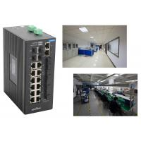Wholesale industrial 28 Port Switch with 4 gigabit SFP fiber ports and 4 megabit TX ports VS 14 megabit TX ports from china suppliers