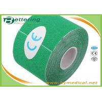 Wholesale 5cm x 5m Kinesiology Tape Kinesio Tape  Waterproof Pure Cotton,Sports Safety Muscle Tape Green Colour from china suppliers