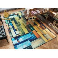 Wholesale Water Absorbing Modern Living Room Carpet , Indoor Area Rugs Different Style from china suppliers
