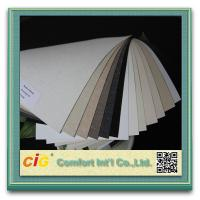 Wholesale 0-5% openness Sunscreen Fabric 70%PVC 30%Polyester Fabric pvc sunscreen For Roller blind from china suppliers