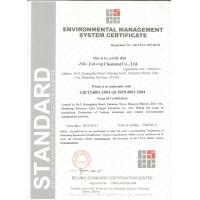 Zibo  Jiulong  Chemical  Co.,Ltd Certifications