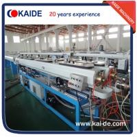 Wholesale 30m/min PPR/PPRC water pipe making equipment KAIDE from china suppliers