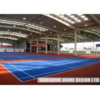 "Wholesale Interlocking Flat Outdoor Sports Flooring 10""x10""x1/2"" PP Multi Play Court Tiles from china suppliers"