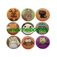 Wholesale Hot Sale Custom Metal Pin Badge Tin Button Badge for Party from china suppliers