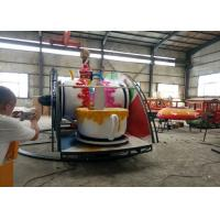 Wholesale Indoor / Outdoor Teacup Amusement Ride With Under Base And Transmission System from china suppliers