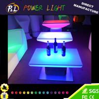 Wholesale LED Furniture Plastic Glowing Color Changing LED Table from china suppliers