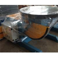 Wholesale 2 T Pipe Welding Positioners , 90° Tilting Angle CE Welding Rotary Positioner from china suppliers