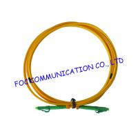 Wholesale LC / APC fiber patch cord Duplex G.657A2 Corning Fiber Bend Insensitive from china suppliers
