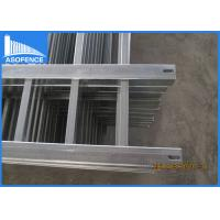 Quality Flat Top Steel Panel Fence Powder Coated With Hot Dipped Galvanized Material for sale