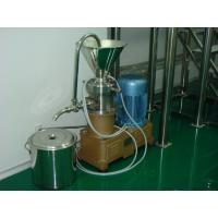 Wholesale Stainless Steel Peanut Butter Colloid Mill Machine / Equipment GMP standard from china suppliers