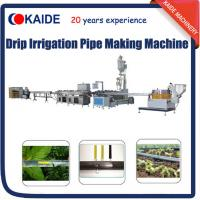 Wholesale PE Inline Flat Drip Irrigation Tape Production Line/Making Machine/Extrusion Machine Line from china suppliers
