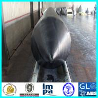 Quality 5M~18M Length salvage pontoon marine rubber air-bags, marine airbags for ship salvage, heavy lifting, ship launching for sale