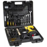 Wholesale Professional Power Tool 75PCS DIY Cordless Drill Sets with HSS Twist Drills / Wood Drills Combination Tool Set from china suppliers