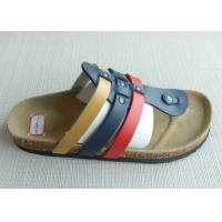 Wholesale Popular PU Upper Thong Men Cork Sandals ,  Home / Outdoor Comfortable from china suppliers