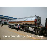 Wholesale SHENGRUN aluminum alloy fuel tanker trailer / oil tanker trailer from china suppliers