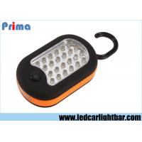 Buy cheap Portable 24+3 LED Camping Lights ABS Waterproof 10000 MCD Brightness from wholesalers