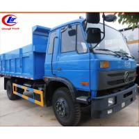 Wholesale dongfeng brand hydraulic system 10tons dump truck with hydraulic sealed cover for sale, dongfeng RHD 4*2 10tons tipper from china suppliers