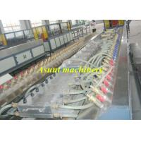 Quality Conical double screw  PP PE  WPC Extrusion Machine for board / floor for sale