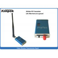 Wholesale 41g FPV Wireless AV Transmitter 1200Mhz Analog Wireless Video Sender LOS 70KM Air to Ground from china suppliers
