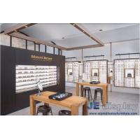 Buy cheap 2017 new design of glasses shop special display showcase manufacturers in low-priced sales and professional wood working from wholesalers