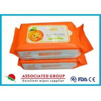 Wholesale Biodegradable Wet Baby Wipes For Sensitive Skin / Unscented Baby Wipes from china suppliers