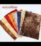 Microfiber Mat Red 40 * 60cm Big Chenille Bathroom Indoor Anti - skid Rubber