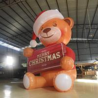 Wholesale Mini 2.6M Oxford  Inflatable Bear/Inflatable Model bear  With LED Light For Advertising /  Decoration from china suppliers