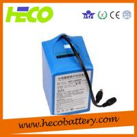 Wholesale 12V 25AH Electric Scooter Lithium Battery With BMS System , Weight 3KG from china suppliers