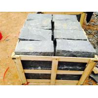 Wholesale Black Residential Construction Granite Bathroom Tiles Bush Hammered from china suppliers