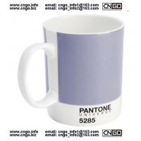 Buy cheap fashion mug PANTONE 1225 colors mug Certificate of authentication SGS/CE/ROHS Toxicity test wholesale Artists's mug from wholesalers