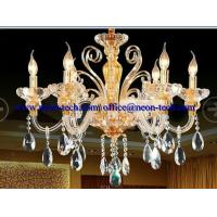 Wholesale Customized luxury crystal LED hotel pendant lights,custom LED lights Fixtures from china suppliers