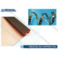 Wholesale Treatment Rolled Copper Foil Sheet , High Elongation  FCCL Cu Foil Roll from china suppliers