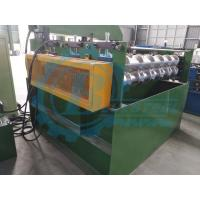 Steel Trapezoidal Profile Metal Roofing Roll Forming Machine With 3 Stands Rollers