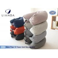 Wholesale Comfortable Travel Neck Pillow U Form Microbead Neck Pillows , Blue Brown Red from china suppliers