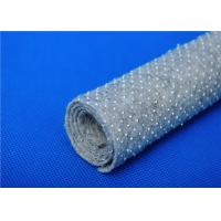 Quality Anti Bacteria Felt Underlay / Nonwoven Fabric Base Cloth with Dots for sale