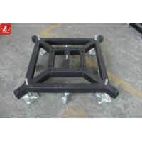 Wholesale Removable Stage Truss Systems Lift Steel Base Plate With Wheels / Stationary from china suppliers