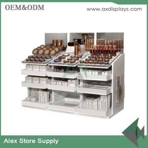Buy cheap Cosmetic counter display makeup beauty shop furniture cosmetic shop furniture from wholesalers